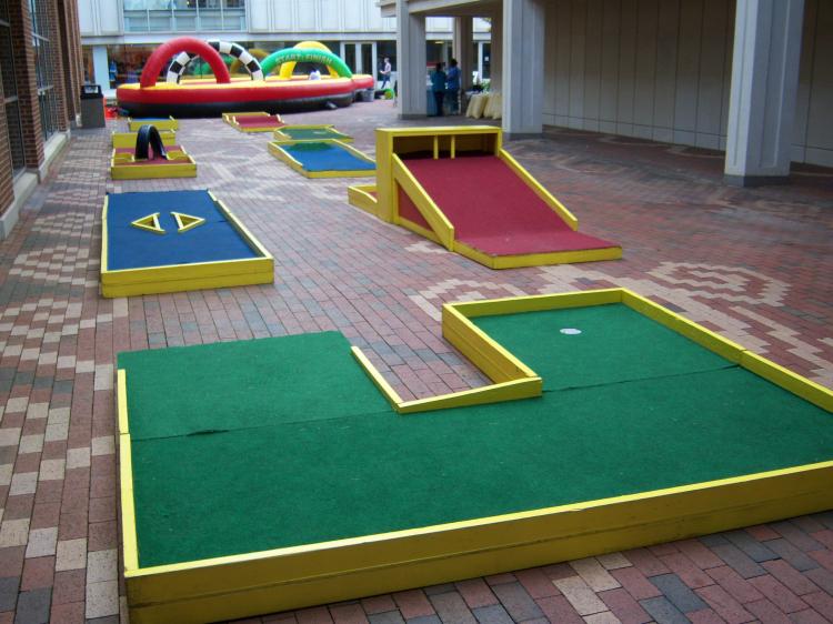 9 Holes of Mini Golf