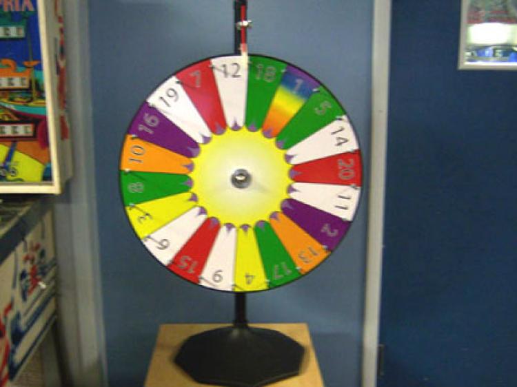30″ Prize Wheel