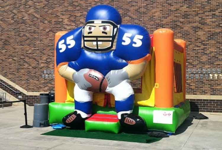 Football Bouncer – Dark Blue