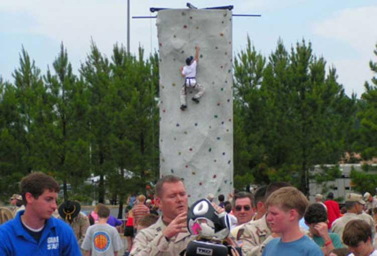 Climbing Wall – 24′ Tall