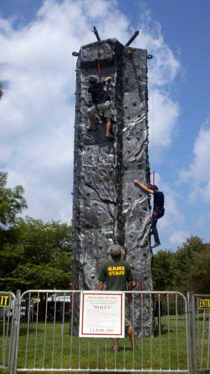 Climbing Wall – 28′ Tall