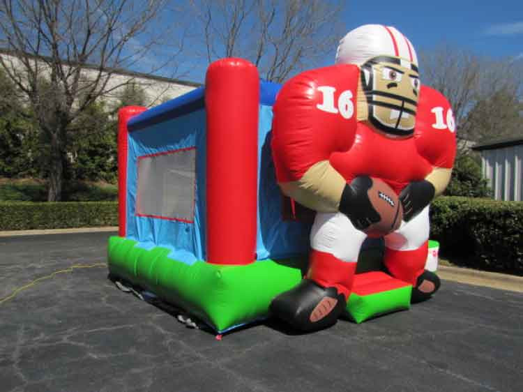 Football Bouncer – Red